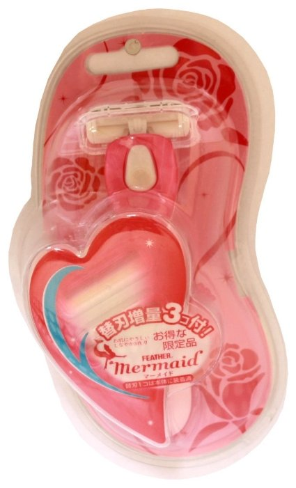 Feather Mermaid Rose Pink Бритвенный станок