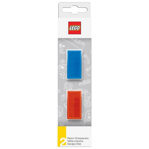 LEGO Набор точилок 51496, 2 шт синий/красныйТочилки<br>