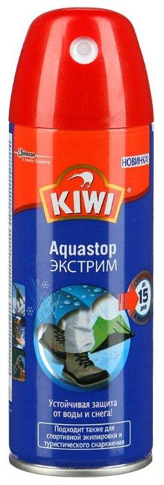 c41c6280d Купить Kiwi Средство по уходу за изделиями из кожи, замши, нубука и  текстиля Aquastop Экстрим по выгодной цене на Яндекс.Маркете