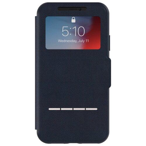 Чехол Moshi SenseCover для Apple iPhone XR синяя стальЧехлы<br>