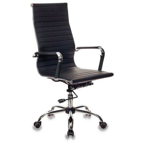 Компьютерное кресло Бюрократ CH-883 для руководителя, обивка: искусственная кожа, цвет: черный