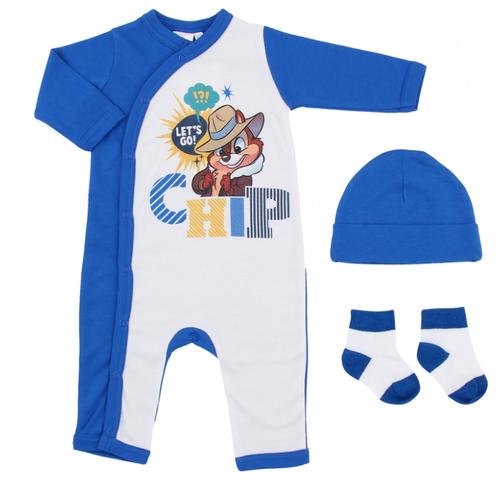 Комплект одежды Linas Baby размер 62 (1-3), белый/синийКомплекты<br>