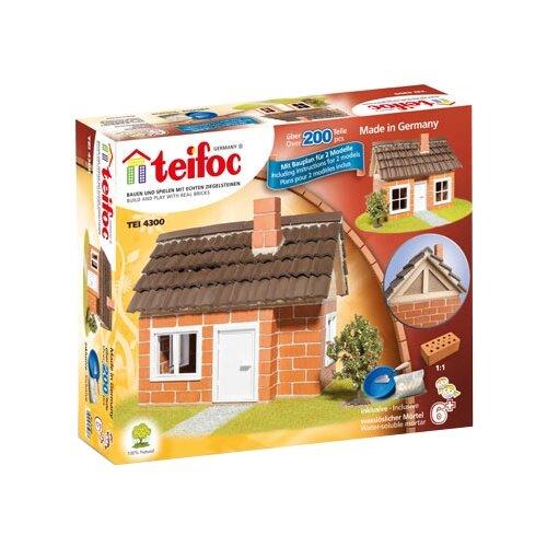 Фото - Конструктор TEIFOC Classics TEI4300 Дом с каркасной крышей конструктор teifoc classics tei9010 цветник