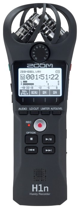 Zoom Портативный рекордер Zoom H1n