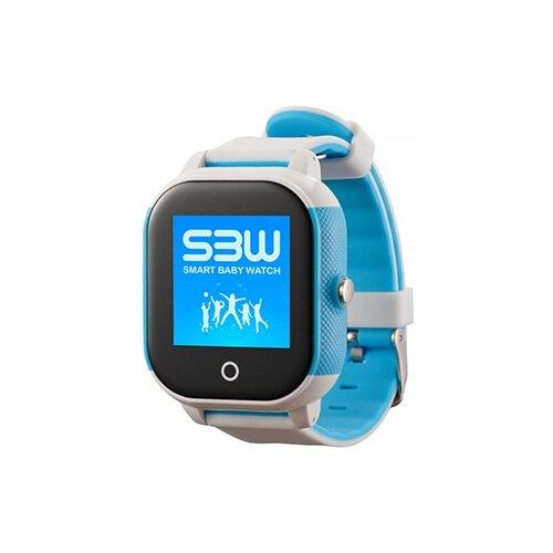 Детские умные часы Smart Baby Watch SBW Water Sport, бело-голубой детские умные часы smart baby watch gw400s голубой