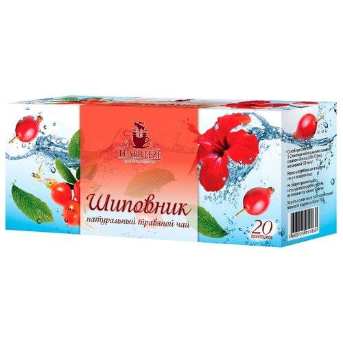 Чай красный Teabreeze Шиповник в пакетиках, 20 шт.