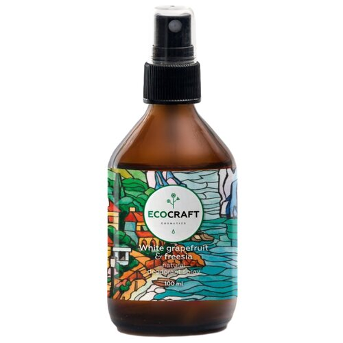 Дезодорант спрей EcoCraft Белый грейпфрут и фрезия, 100 мл