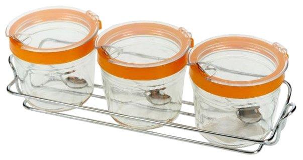 Sinoglass Набор банок для сыпучих продуктов 5400022 3 шт.