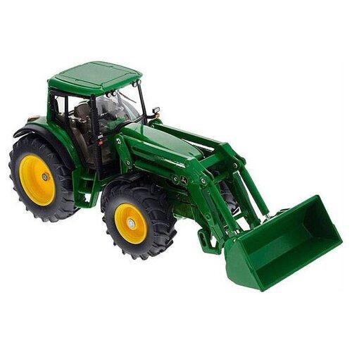 Трактор Siku с ковшом John Deere (3652) 1:32 18 см зеленый