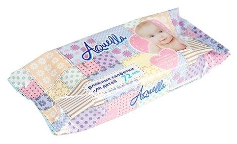 Влажные салфетки AQuella для детей