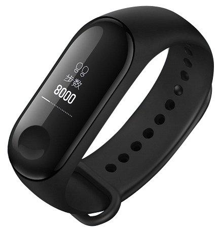 Умный браслет Браслет Xiaomi Mi Band 3 Black