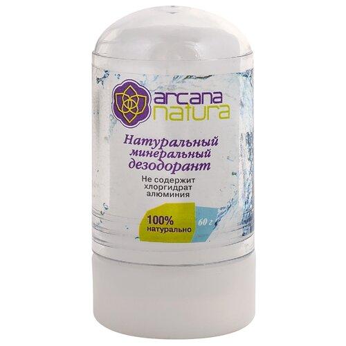 Дезодорант кристалл Arcana Natura Натуральный минеральный 60 гДезодоранты<br>