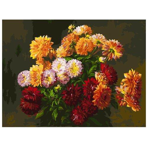 Купить Белоснежка Картина по номерам Букет от Татьяны 30х40 см (266-AS), Картины по номерам и контурам