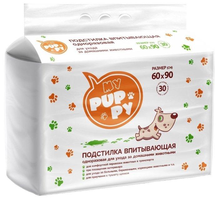 Пеленки для собак впитывающие Мedmil My Puppy