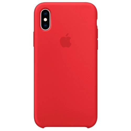 Купить Чехол Apple силиконовый для iPhone XS (PRODUCT)RED