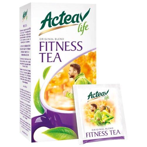 Чай зеленый Acteav life Fitness в пакетиках, 25 шт. чай acteav life диета 25 пак х 2г