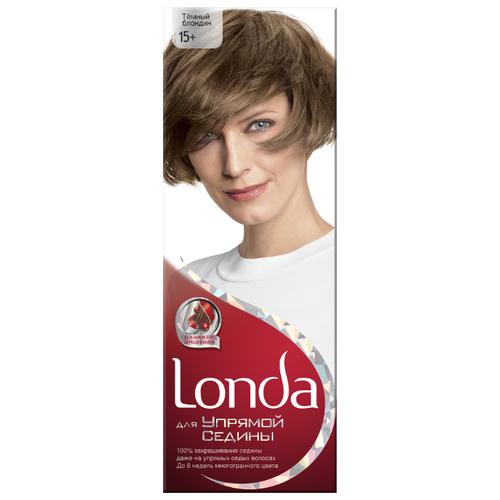 Londa для Упрямой седины стойкая крем-краска для волос, 15 темный блондинКраска<br>