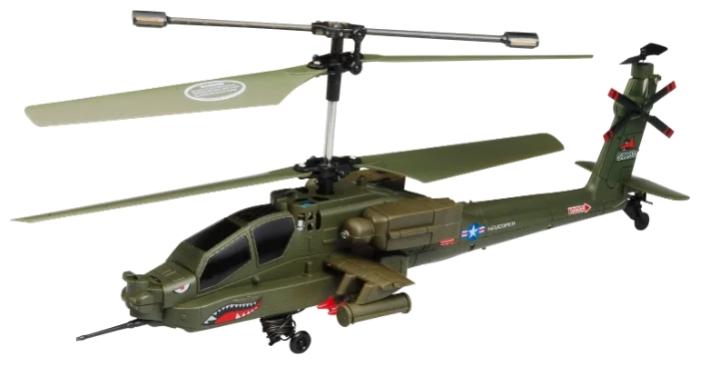 Вертолет Syma Apache AH-64 (S109G) зеленый фото 1
