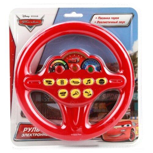 Купить Интерактивная развивающая игрушка Играем вместе Disney Тачки Руль красный, Развивающие игрушки