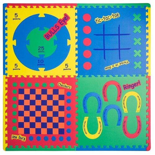 Коврик-пазл Funkids Игровой Центр 4 в 1 (KB-119-NT) фото