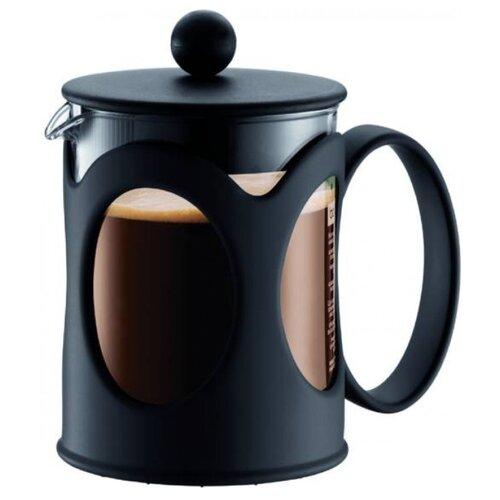 Френч-пресс Bodum Kenya 10683 (0,5 л) черныйФренч-прессы и кофейники<br>