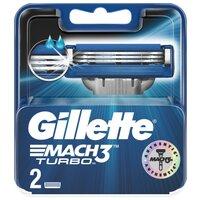 Gillette Сменные лезвия  Mach 3 Turbo