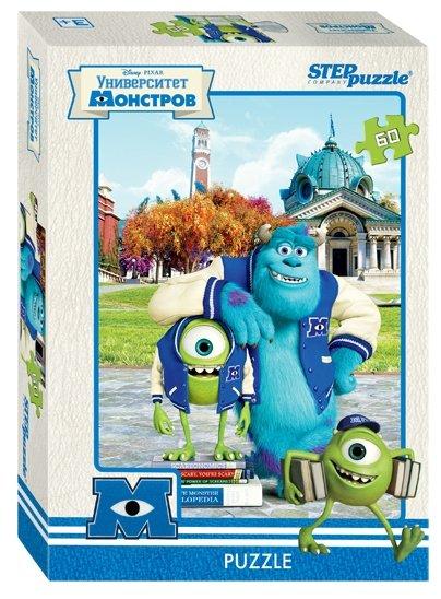 Пазл Step puzzle Disney Университет монстров (81122), 60 дет.