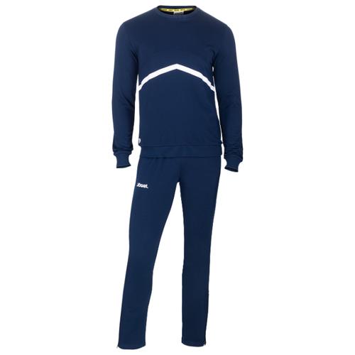 Тренировочный костюм Jogel Jcs-4201-091, хлопок, темно-синий/белый (M)