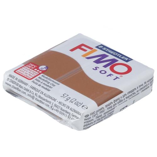Купить Полимерная глина FIMO Soft запекаемая карамель (8020-7), 57 г, Глина