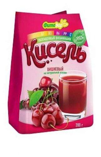 Кисель Фитодар вишневый на натуральной основе витаминизированный 200 г