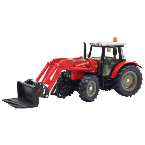 Трактор Siku Massey Ferguson с ковшом и вилами (3653) 1:32 красный цена 2017