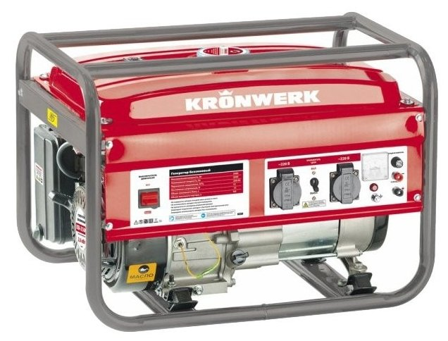 Бензиновый генератор Kronwerk KB 3500 (3000 Вт)