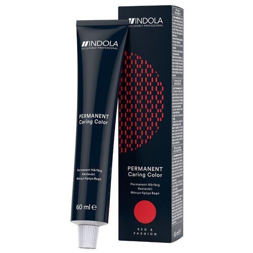 Indola Permanent Caring Color Стойкая крем-краска для волос Red & Fashion, 60 мл, 7.44, Средний русый интенсивный медныйКраска<br>