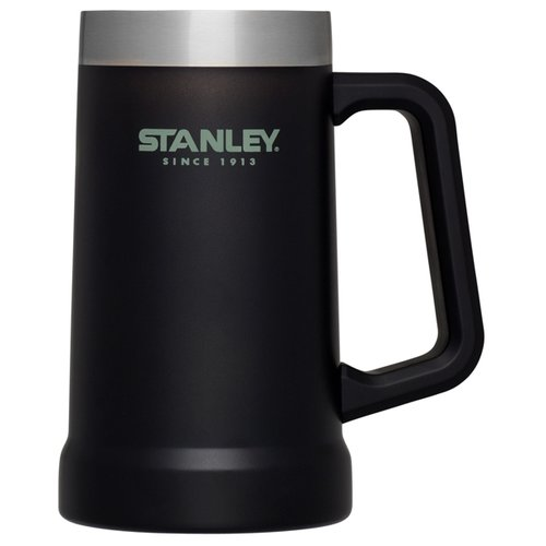 Термокружка STANLEY Adventure пивная, 0.7 л черный