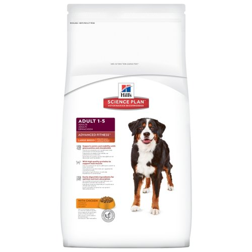 Корм для собак Hills (12 кг) Science Plan Canine Adult Advanced Fitness Large Breed with ChickenКорма для собак<br>