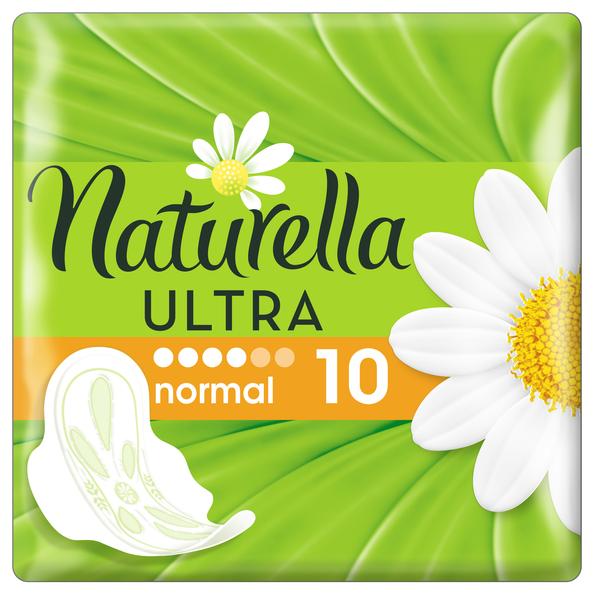 Прокладки Naturella ароматизированные с ароматом ромашки Ultra normal, 10 шт