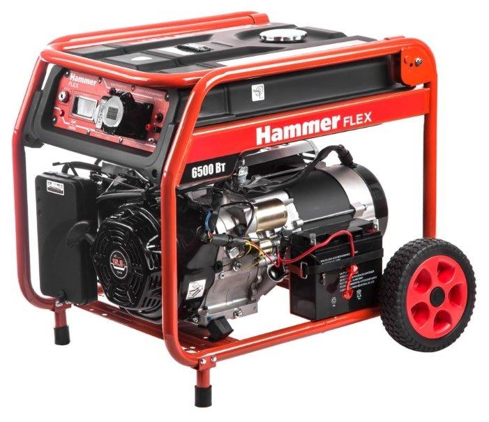 Бензиновый генератор Hammer GN7000ET (6000 Вт)