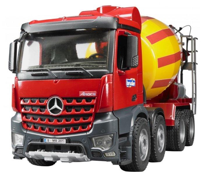 Бетономешалка Bruder Mercedes-Benz (03-654) 1:16 57.3 см