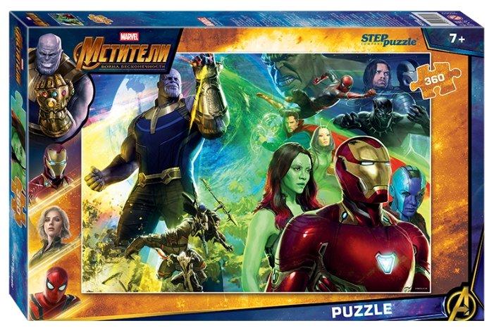 Пазл Step puzzle Marvel Война бесконечности (96069), 360 дет.