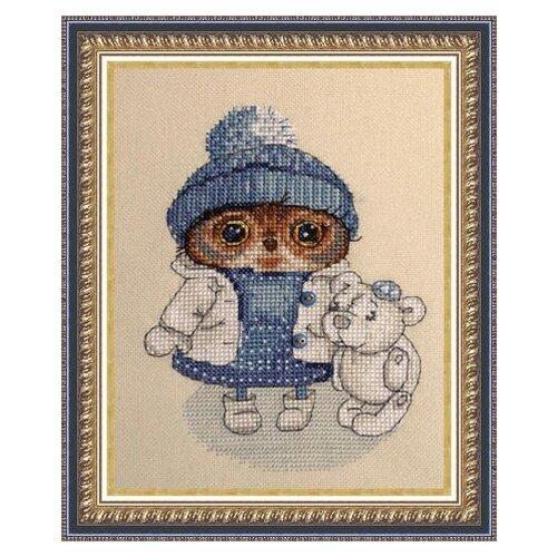 NeoCraft Набор для вышивания крестиком Снежность 11 x 15 см (св-07), Наборы для вышивания  - купить со скидкой