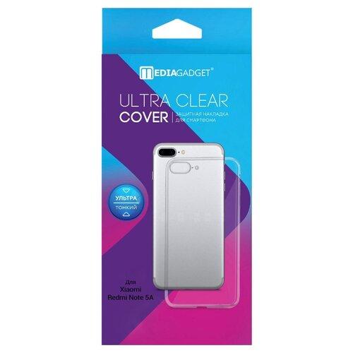 Чехол Media Gadget ESSENTIAL CLEAR COVER для Xiaomi Redmi Note 5A прозрачный чехол media gadget essential clear cover для xiaomi redmi note 5a прозрачный