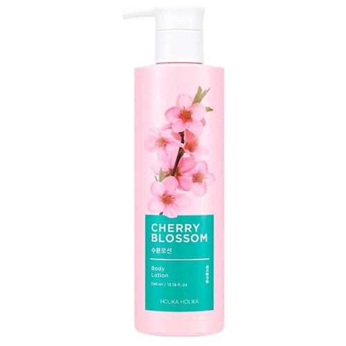 Лосьон для тела Holika Holika Cherry Blossom Body Lotion, 390 мл лосьон для тела дикая вишня wild cherry magic 350мл