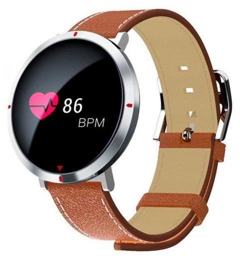умные смарт-часы CARCAM S2 Smart Watch (Пульсометр / Датчик артер. давления / 120mah / 0.96