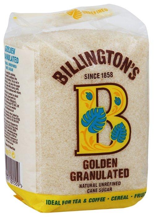 Сахар Billington's Golden Granulated нерафинированный, 1кг
