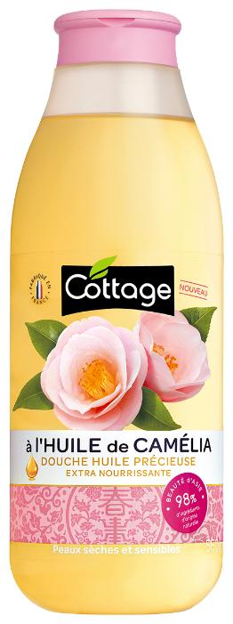 Масло для душа Cottage Camellia
