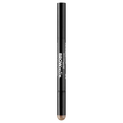 Maybelline New York карандаш Brow Satin, оттенок 02, коричневый maybelline new york карандаш brow precise micro pencil оттенок 1 темный блонд