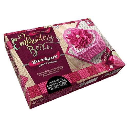 Купить Danko Toys Набор для вышивания Embroidery Box Шкатулка Набор 8 (EMB-01-08), Наборы для вышивания