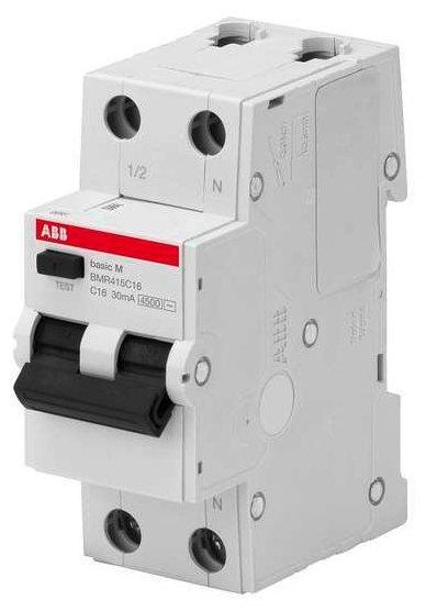 Дифференциальный автомат ABB BMR415 2П 30 мА C 10 А