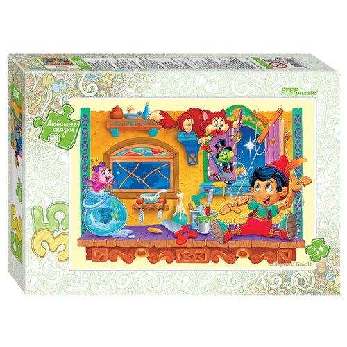 Пазл Step puzzle Любимые сказки Пиноккио (91170), 35 дет. фото