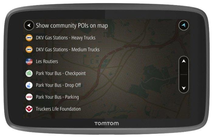 Навигатор TomTom GO PROFESSIONAL 6200